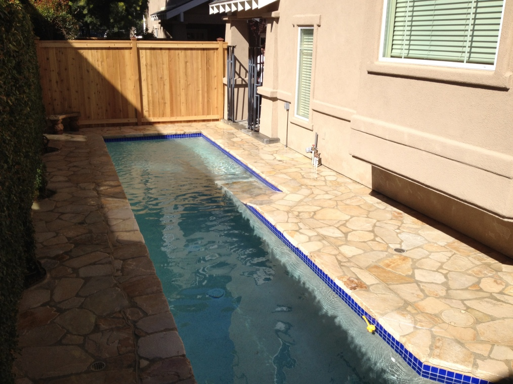 Very Small Backyard Pools : Small Pool In a Small Yard? Accomplished!