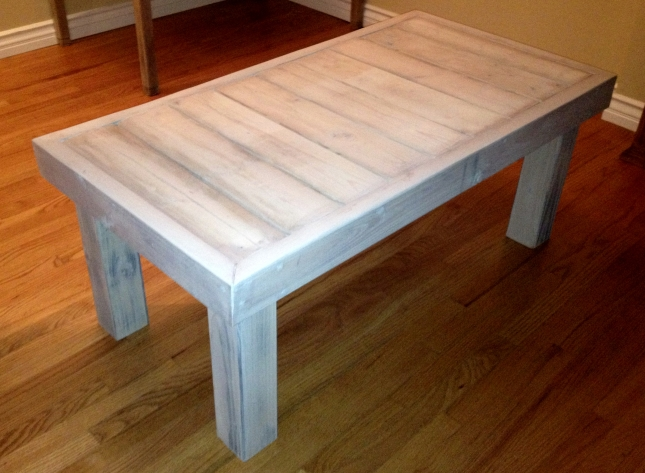 coffee table free plans woodworking