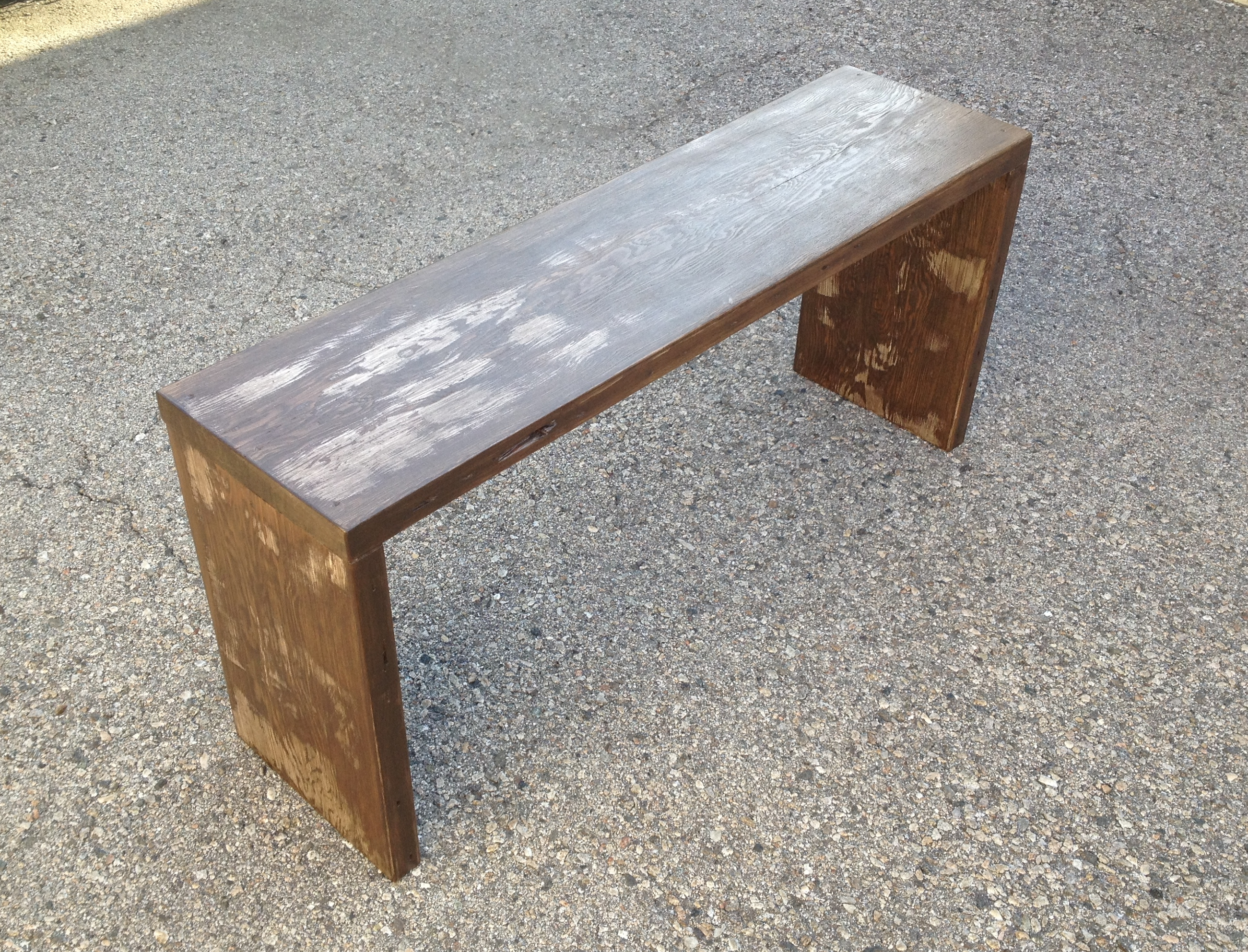 Superb img of http://www.etsy.com/listing/126829528/modern reclaimed wood bench with #654530 color and 2602x1985 pixels