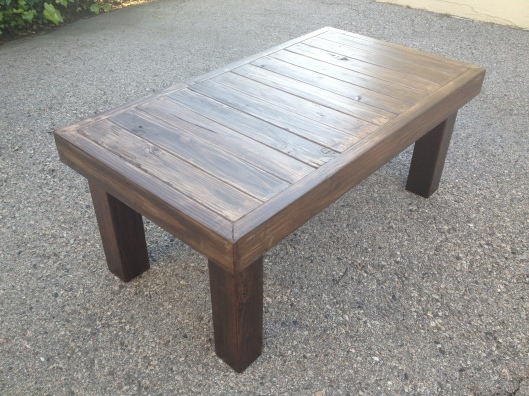 Reclaimed Wood Coffee Table (1)