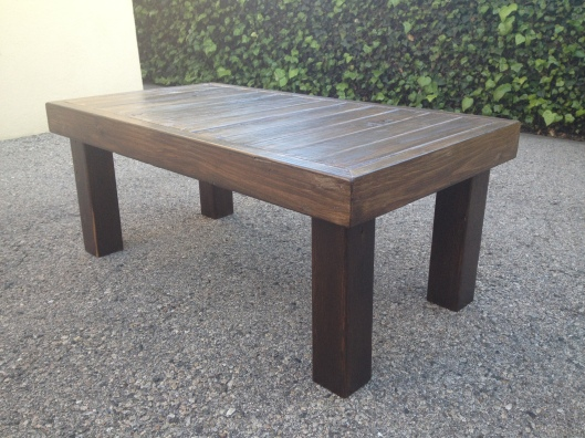 Reclaimed Wood Coffee Table (3)