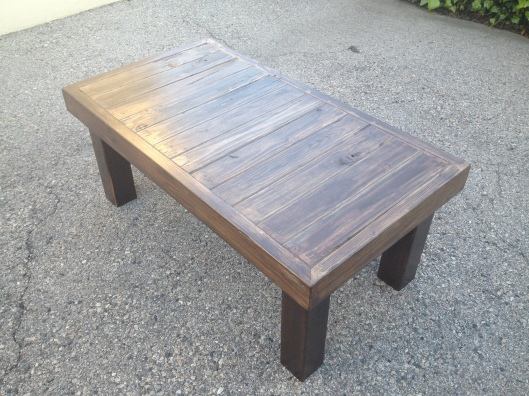 Reclaimed Wood Coffee Table (9)